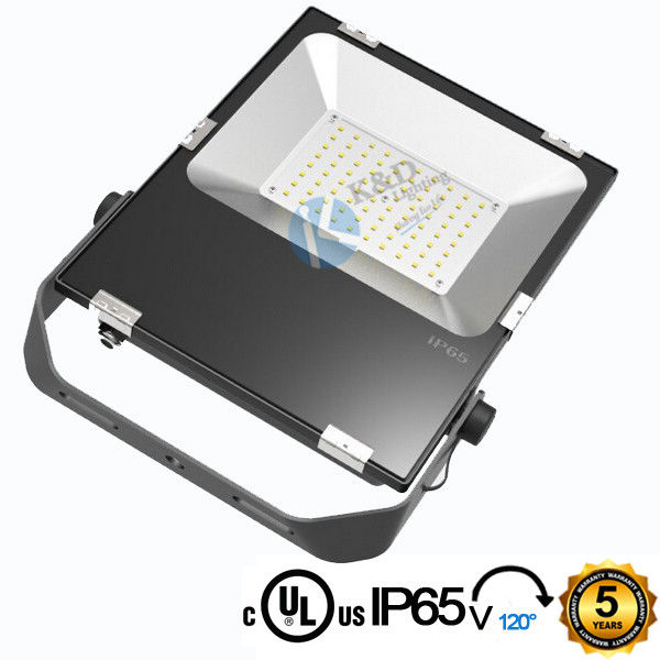 Outdoor Security 80 Wattage 120LM/W PROLINE Version SMD LED Flood Light   With G Shape Buckle Long Lifespan